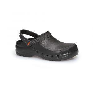 Παπούτσια σεφ Hoof Eva black